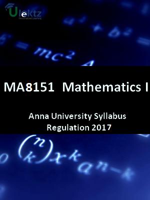 Engineering Mathematics - I - Syllabus