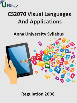 Visual Languages And Applications - Syllabus
