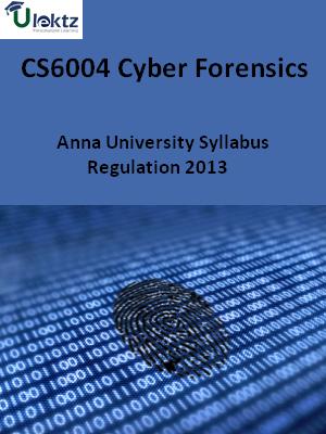 Cyber Forensics - Syllabus