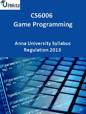 Game Programming - Syllabus