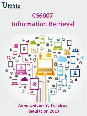 Information Retrieval - Syllabus
