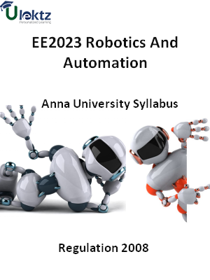 Robotics And Automation - Syllabus