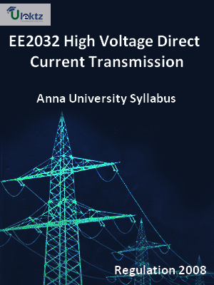 High Voltage Direct Current Transmission - Syllabus