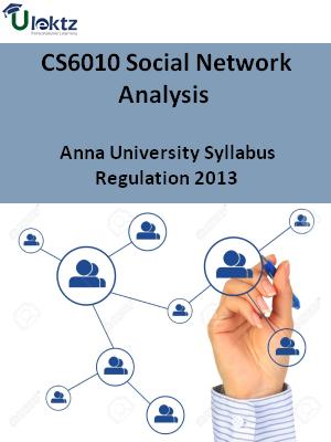 Social Network Analysis - syllabus