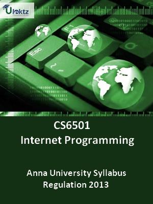 Internet Programming - Syllabus