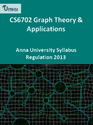 Graph Theory And Applications - Syllabus