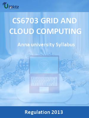 Grid And Cloud Computing - Syllabus