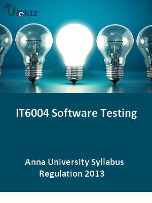 Software Testing - Syllabus