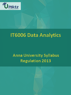 Data Analytics - Syllabus