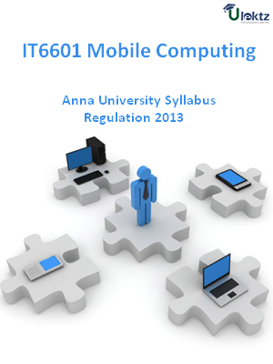 Mobile Computing - Syllabus