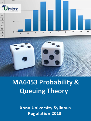 Probability And Queuing Theory - Syllabus