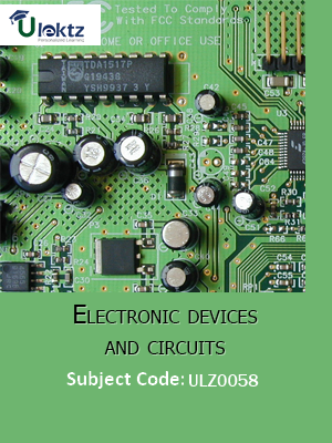 Electronic Devices and Circuits (Multistage amplifiers and differential amplifier)