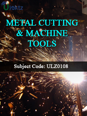 Metal Cutting & Machine Tools