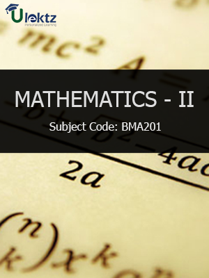 Mathematics- II