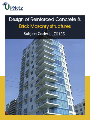 Design of Reinforced Concrete & Brick Masonry Structures