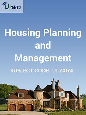 Housing Planning & Management