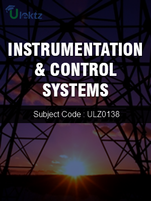 Instrumentation & Control Systems