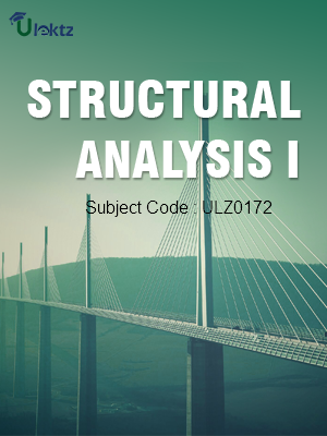 Structural Analysis –I