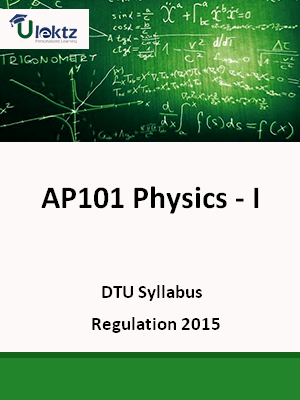 Physics - I - Syllabus