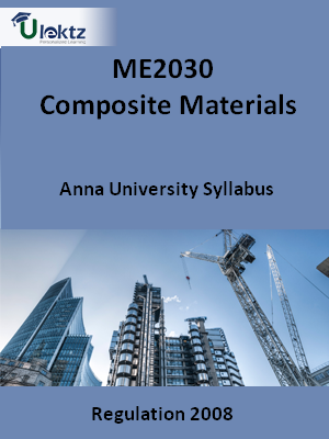 Composite Materials - Syllabus