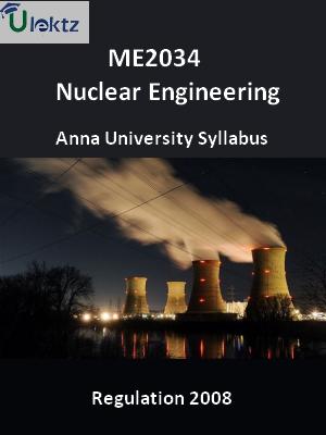 Nuclear Engineering - Syllabus