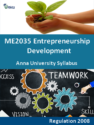 Entrepreneurship Development - Syllabus