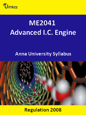 Advanced I.C. Engine - Syllabus