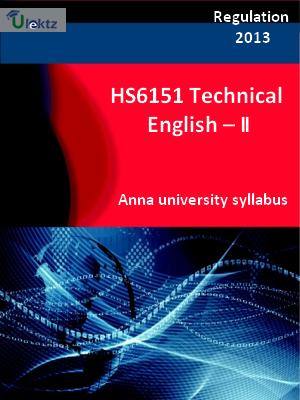 Technical English II - Syllabus