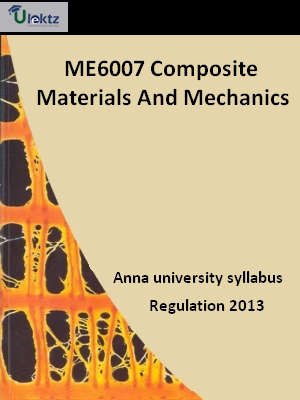 Composite Materials And Mechanics - Syllabus