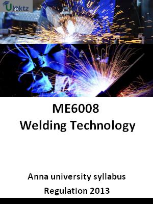 Welding Technology - Syllabus