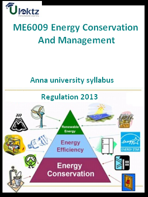 Energy Conservation And Management - Syllabus