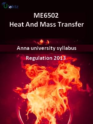 Heat And Mass Transfer - Syllabus