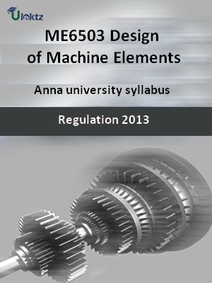 Design of Machine Elements - Syllabus