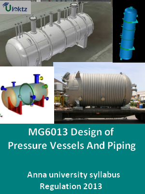 Design of Pressure Vessels And Piping - Syllabus