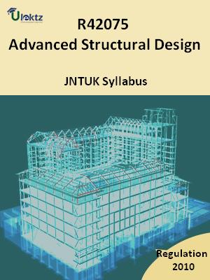 Advanced Structural Design - Syllabus