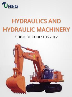 Hydraulics And Hydraulic Machinery