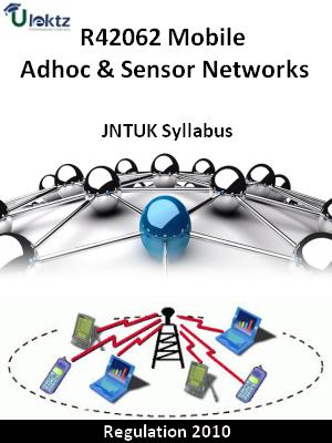 Mobile Adhoc & Sensor Networks - Syllabus