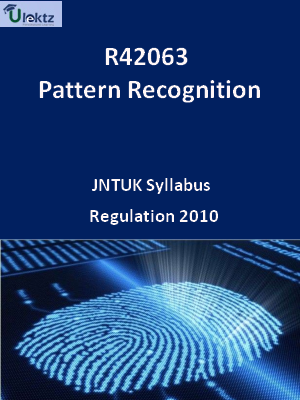 Pattern Recognition - Syllabus