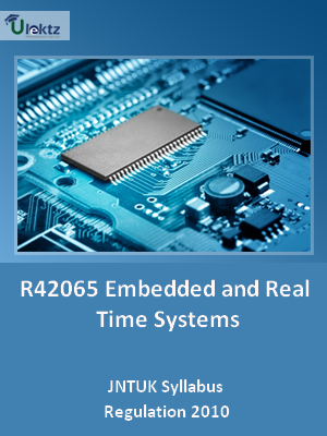 Embedded and Real Time Systems - Syllabus