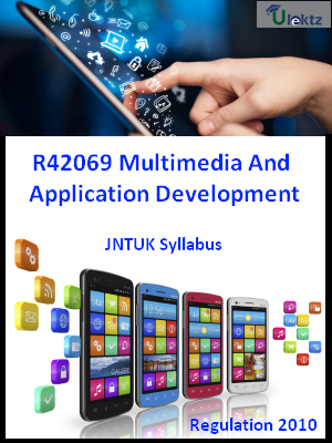 Multimedia And Application Development
