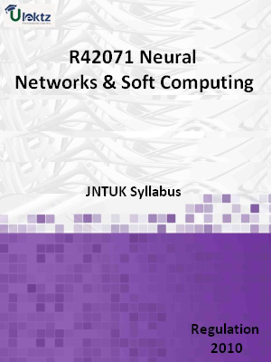 Neural Networks & Soft Computing - Syllabus