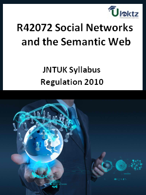 Social Networks and the Semantic Web - Syllabus