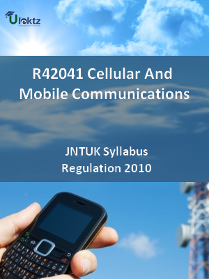 Cellular And Mobile Communications - Syllabus