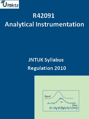 Analytical Instrumentation - Syllabus