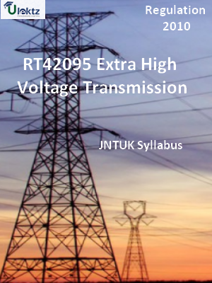 Extra High Voltage Transmission - Syllabus