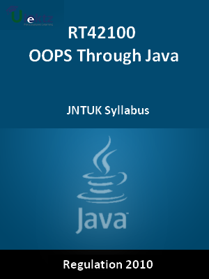 OOPS Through Java - Syllabus