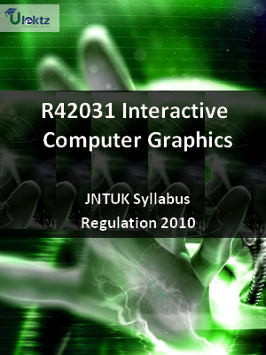 Interactive Computer Graphics - Syllabus
