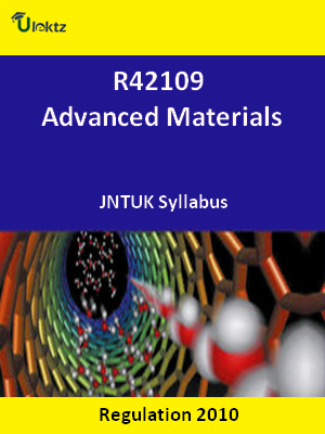 Advanced Materials - Syllabus
