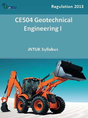 Geotechnical Engineering – I - Syllabus