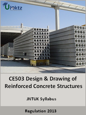 Design and Drawing of Reinforced Concrete Structures - Syllabus